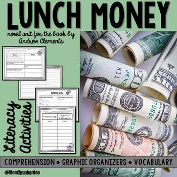 Lunch Money Book Pages