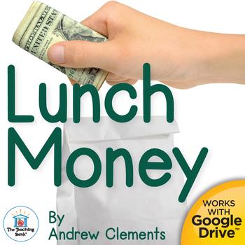 Lunch Money Novel Study Book Unit