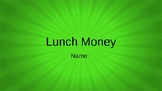 Lunch Money Student Vocab Slides