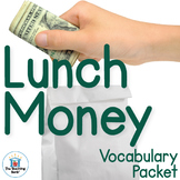 Lunch Money Vocabulary Packet