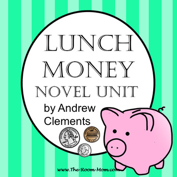 Lunch Money Novel Unit