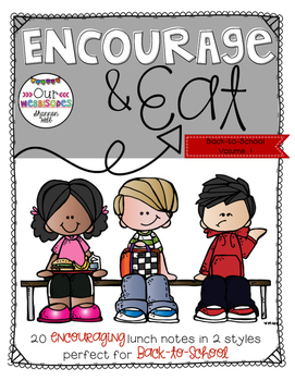 Lunch Notes: Encourage & Eat Vol.1