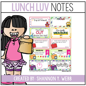 Lunch Notes FREEBIE