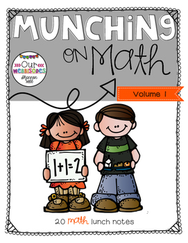 Lunch Notes: Munching on Math Vol.1
