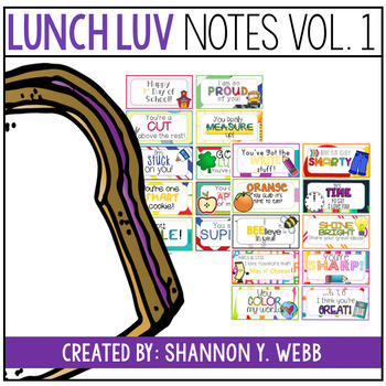 Lunch Notes Vol.1