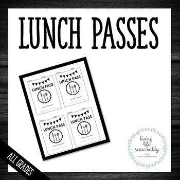 Lunch Passes