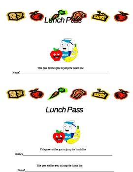 Lunch Pass Reward