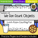 Lunch Room Counting Numbers 1-10 (SMART Notebook)