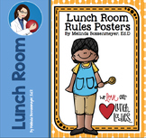 Lunch Room Rules Poster Set