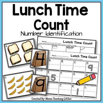 Lunch Time Count - Number Identification