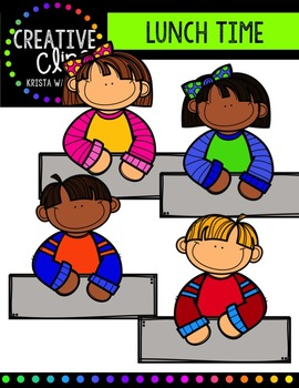 Lunch Time {Creative Clips Digital Clipart}