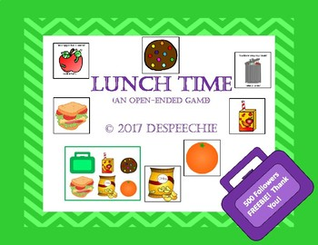 Lunch Time Game - 500 Followers Freebie!