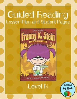 Lunch Walks Among Us (Franny K. Stein) Guided Reading Plan (Level N)
