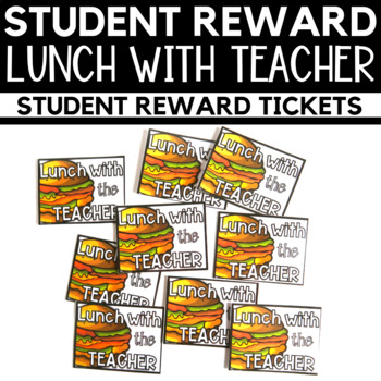 Lunch With the Teacher Tickets