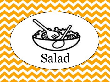Lunch and Attendance Clipchart (Editable)