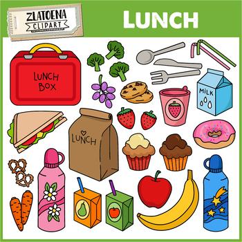 Lunch clip art / Food clip art