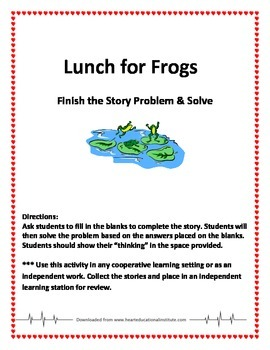 Lunch for Frogs