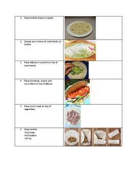 Lunch meat wrap recipe