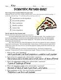 Lunch & the Scientific Method Quiz