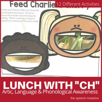 Lunch with CH  Artic, Language, and Phonological Awareness