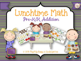 Lunchbox Addition Cards with Combinations to Seven