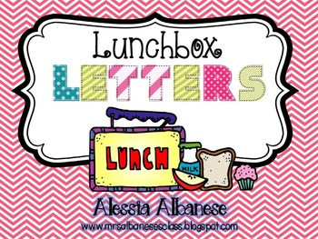 Lunchbox Letters - An Alphabet Review Game {FREEBIE!}