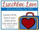 May Lunch Box Love Notes