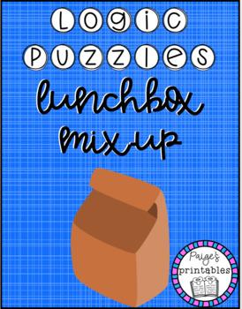 Lunchbox Mix Up LOGIC PUZZLE