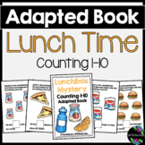 Lunch Time Adapted Book (Counting 1-10)