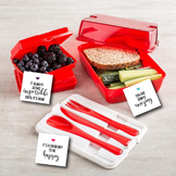 Lunchbox Printable Note Cards