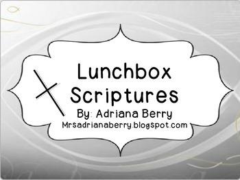 Lunchbox Scriptures
