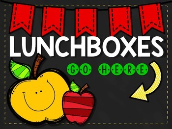 Lunchbox Sign