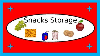 Lunchboxes Etc. Storage Crate Labels - Dr. Seuss Tribute Colors - with Clipart