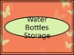 Lunchboxes, Snacks & Water Bottles Storage Crate Label - Coral Bfly Theme