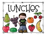 Lunches Sign
