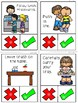 Lunchroom Behavior Clip Cards