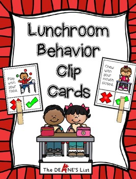 Behavior Lunchroom Worksheets Teaching Resources Tpt