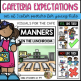 Lunchroom/Cafeteria Expectations Visual Posters for the Classroom