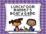 Lunchroom Manners Board Game and Mini Coloring Booklet