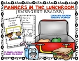 {Lunchroom Manners} Social Studies Emergent Reader Kindergarten & First Grade