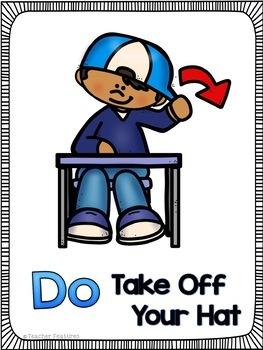 Lunchroom Rules & Behavior Posters