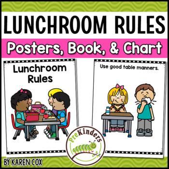 Lunchroom Rules Routines Positive Behavior Management Tpt