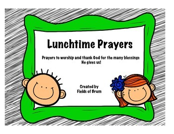Prayers for Lunchtime Pack