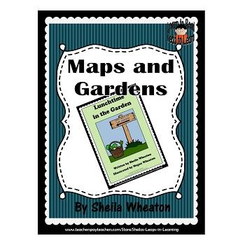 Lunchtime in the Garden: A READ TO LEARN Book About Gardens & Reading Maps