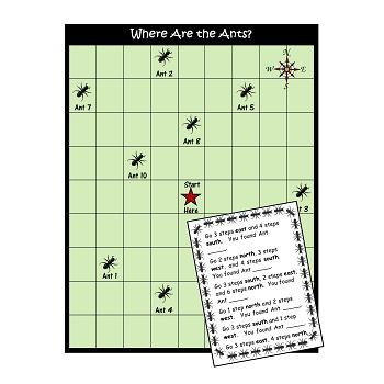 Maps & Gardens Packet: Literacy, Math, and More!