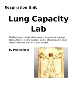 Lung Capacity Lab