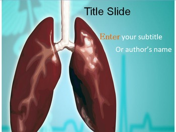 Lungs PowerPoint Template