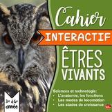 SCIENCE en FRANÇAIS: Animaux / Cahier Interactif / French
