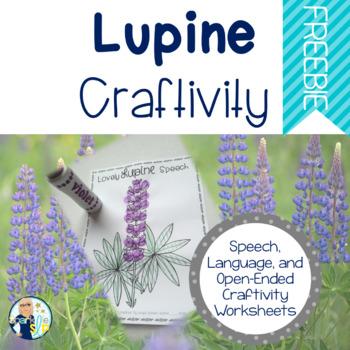 Lupine Craftivity Freebie