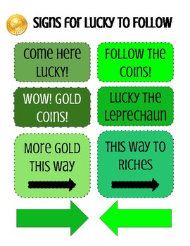 Lure a Leprechaun- Order Decimals/Force and Motion